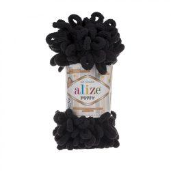 Puffy fonal - fekete