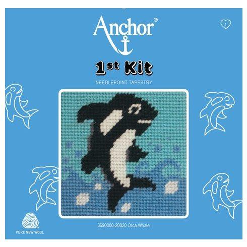 Anchor 1st gobelin kit - delfin