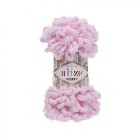 Puffy fonal - világos rózsaszín
