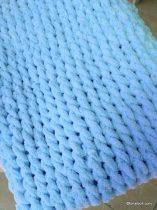 Kék babatakaró