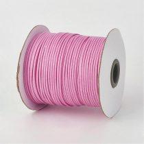 Viaszolt poliészter kordszál 1 mm rózsaszín