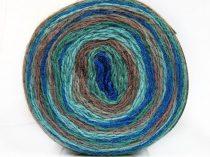 Cakes wool - lurex