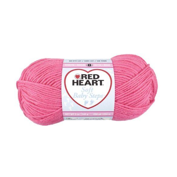 Soft Baby Steps fonal - rózsaszín
