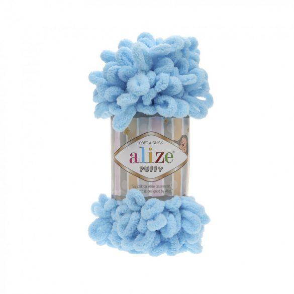 Puffy fonal - élénk kék