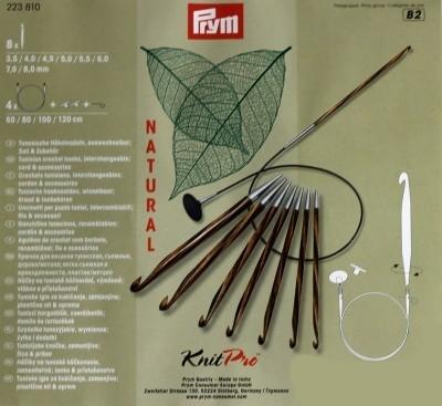 Prym KnitPro tuniszi horgolótű készlet