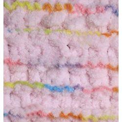 Puffy fonal rózsaszín sokszínű csíkkal - 5859