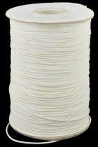 Viaszolt poliészter kordszál 0,5 mm  - ivory