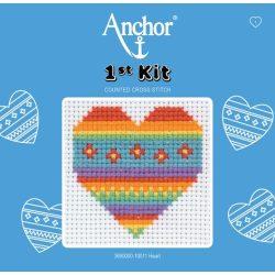 Anchor 1st Xszemes kit - szív