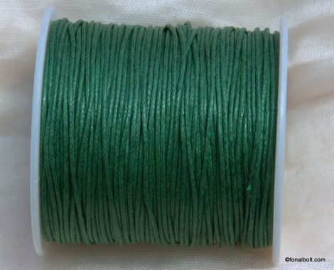 Viaszolt szál 1 mm-es - zöld (Khaki)