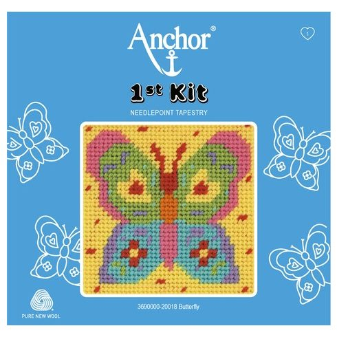Anchor 1st gobelin kit - lepke