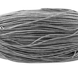 Viaszolt szál 0,7 mm-es - ónszürke