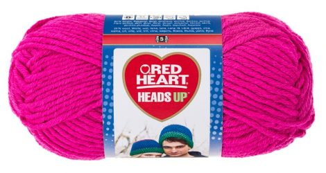 Heads Up - bright pink