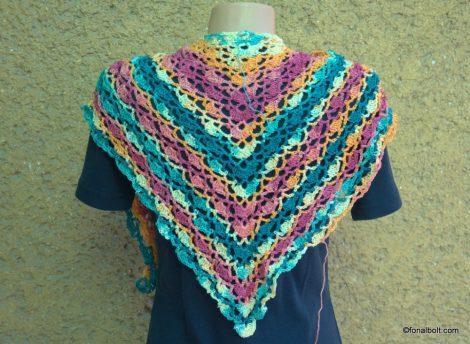 Kendőhorgoló csomag Díva batik fonallal