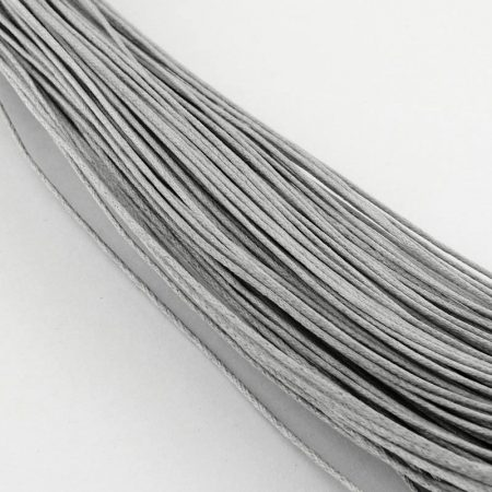 Viaszolt szál 1 mm-es - halványszürke
