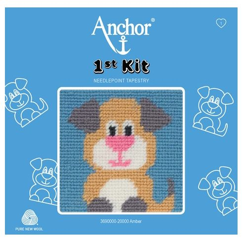 Anchor 1st gobelin kit - kutya