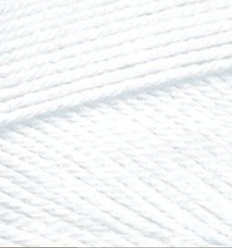 Miss egyszínű fonalak - fehér