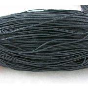 Viaszolt szál 0,7 mm-es - fekete