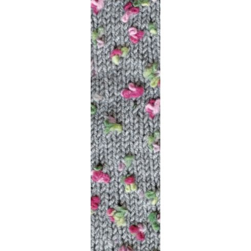 Flower fonal szürke alapon 5076