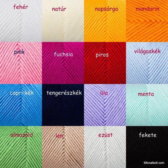 Soft & Easy fonal - szürke melír 92