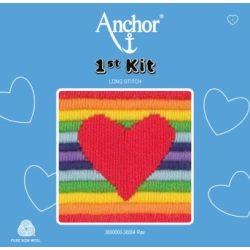 Anchor 1st hosszúöltéses kit - szív