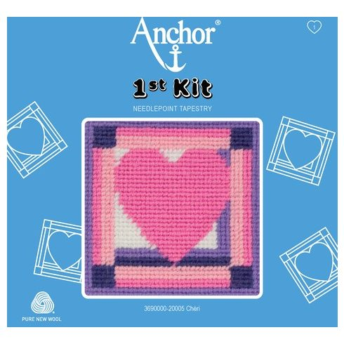 Anchor 1st gobelin kit - szív