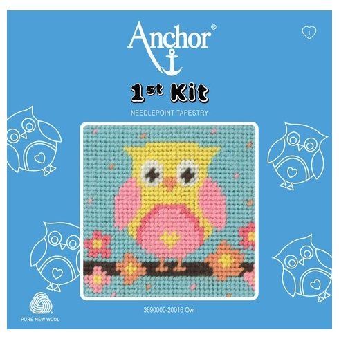Anchor 1st gobelin kit - bagoly