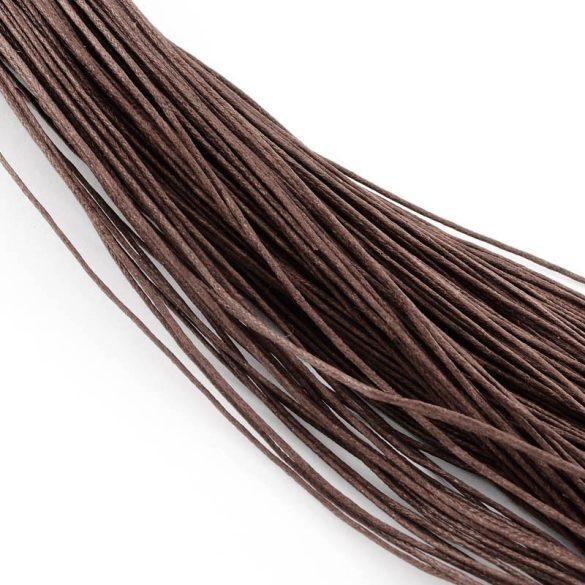 Viaszolt szál 0,7 mm-es - sötétbarna
