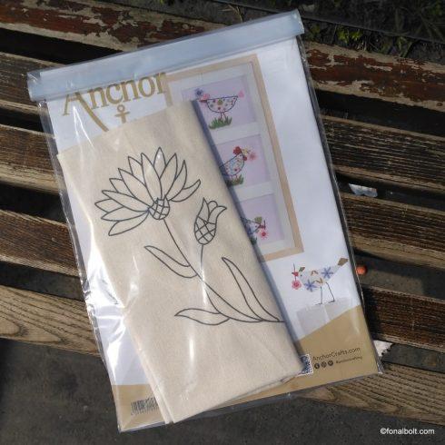 Anchor - Welcome spring - inspirációs füzet hímzőknek