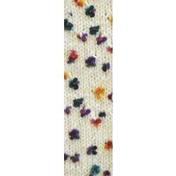 Flower fonal vajszínű alapon 5073