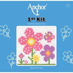 Anchor 1st Xszemes kit - virágok