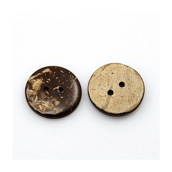 Kókusz gomb 15 mm