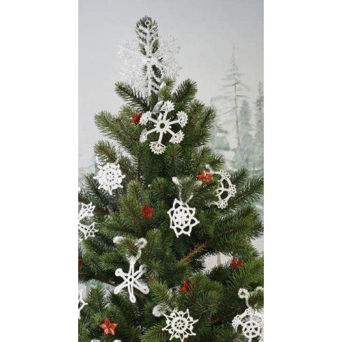 Horgolókészlet karácsonyfa díszekhez - 1