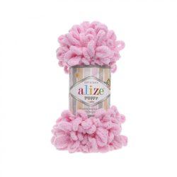 Puffy fonal - élénk rózsaszín