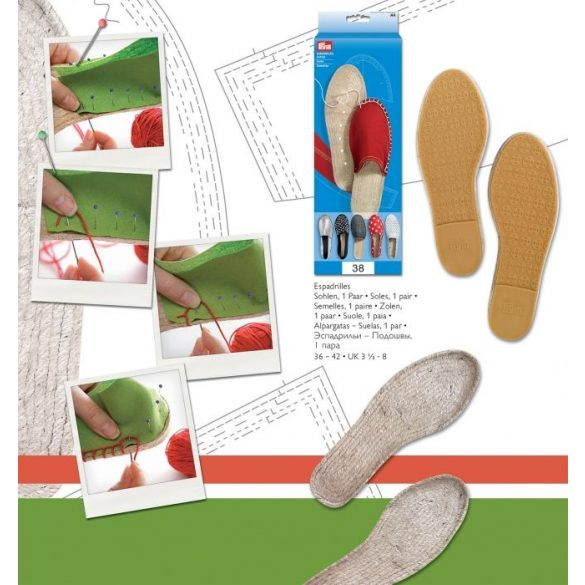Prym kreatív cipőtalp - raktáron