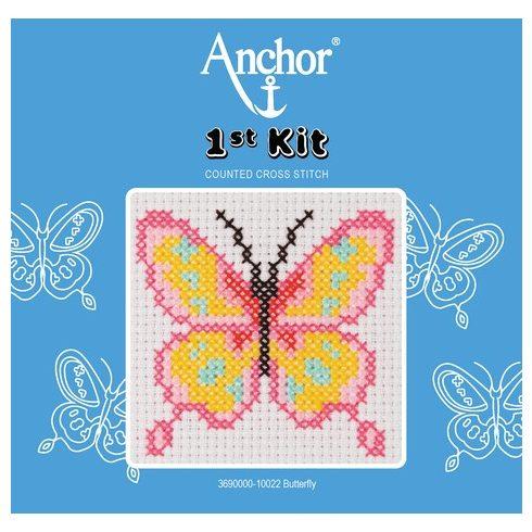 Anchor 1st Xszemes kit - pillangó