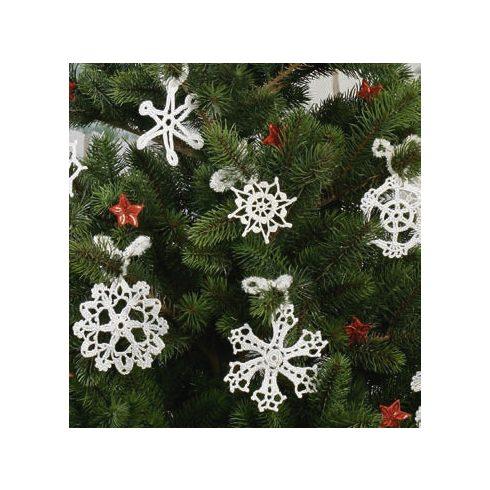 Horgolókészlet karácsonyfa díszekhez - 2