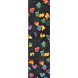 Flower fonal fekete alapon 5084