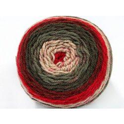 Cakes wool - barna-bordó