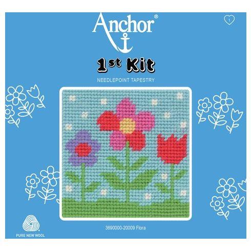 Anchor 1st gobelin kit - virágok