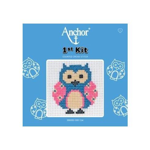Anchor 1st Xszemes kit - bagoly
