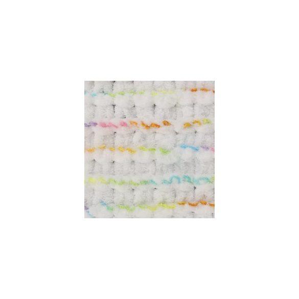 Puffy fonal fehér - élénk színekkel - 5794