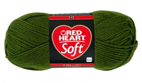 Soft fonal - sötétzöld