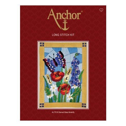 Anchor hosszúöltéses - Pillangók AL77516