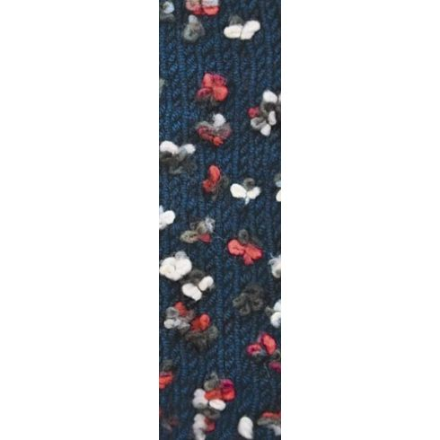 Flower fonal sötétkék alapon - 5300