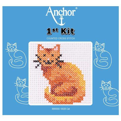 Anchor 1st Xszemes kit - ülő cica