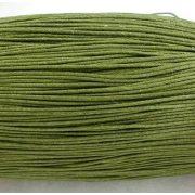 Viaszolt szál 1 mm-es - oliv