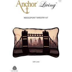 Anchor gobelin párnák - London, Párizs, retro