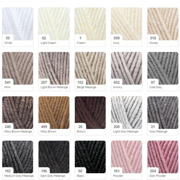 Superlana Maxi - rendelhető színek