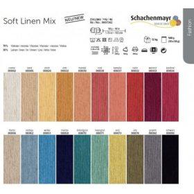 Soft Linen Mix fonalak