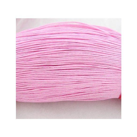 Viaszolt szál 1 mm-es - rózsaszín